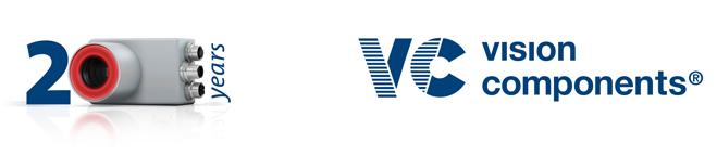 Vision Components GmbH 20周年記念バナー